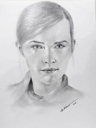 Emma Watson by Bobchew
